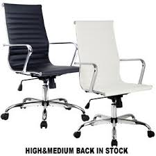 modern ergonomic desk chair modern ergonomic office chair pu leather high med back executive