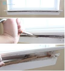 how to install window trim pretty handy