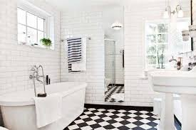 and white bathroom ideas black and white tile bathroom flooring tile ideas home bathroom