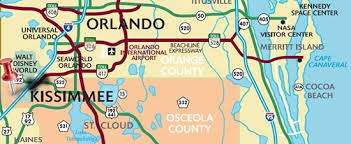 map of kissimmee kissimmee vacation rental by owner 3 bed bath townhome discovervr