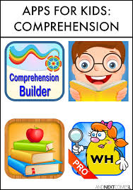 speech apps for kids to work on comprehension wh questions