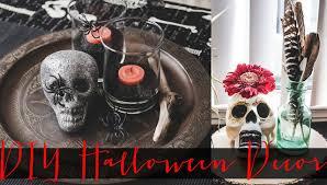 Diy Halloween Skeleton by Diy Halloween Decor Dollar Store Youtube