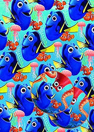Amazon Uk Gift Wrap - finding dory gift wrap 2 sheets 2 gift tags wrapping paper