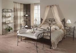 chambre fer forgé lit avec baldaquin en fer forgé 250vr40 251na40