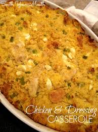 chicken dressing casserole south your recipes mains