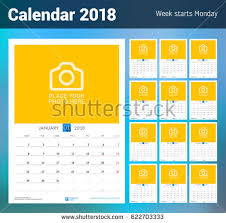 Calendar 2018 Ai Template 2013 Free Vector Calendar Free Vector Stock