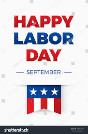 happy labor day united states stock vector 474916174