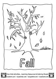 mesmerizing fall season coloring pages fall kindergarten nature