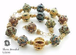 beaded bead necklace images 107 best beaded beads by sharri moroshok images jpg