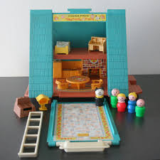 little people a frame house omg totally remember this i had this