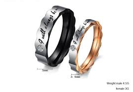 titanium wedding ring sets for him and titanium stainless steel mens promise ring wedding