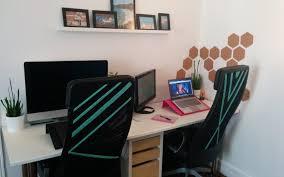 espace bureau deux ikea hack pour rendre bureau plus personnel déco facile