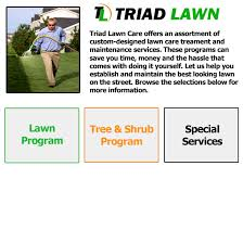 lawn care programs for do it yourself triad lawn care services