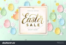 decorative eggs for sale golden easter sale background decorative eggs stock vector