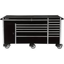 excel 72in metal roller tool cabinet u2014 14 drawers model tb7207