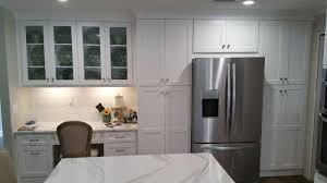 the bohrer u2013 kitchen after white shaker cabinetry daltile emblem