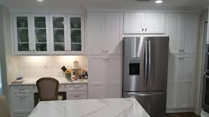 White Shaker Cabinets Kitchen The Bohrer Kitchen After White Shaker Cabinetry Daltile Emblem