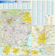 Illinois State Map With Cities by Reference Map Of Georgia State Usa Nations Online Project Georgia