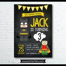 free printable batman invitations cards or labels birthday