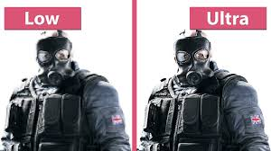 comparaison siege auto rainbow six siege beta pc low vs medium high ultra graphics