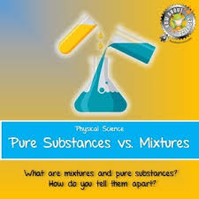 pure substances and mixtures teaching resources teachers pay