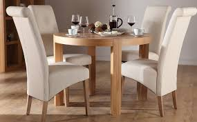 Round Dining Room Tables For 4 Chic Round Dining Room Sets For 4 Top Dining Room Design Ideas