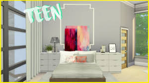 Bedroom Design Young Adults Teen And Young Female Bedroom Decor The Sims 4 Youtube