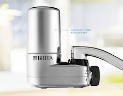 kitchen faucet filter healthier and great tasting water on tap with brita s bpa free