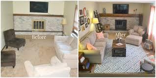 family room makeover a family room makeover with a diy coffee table gallery wall