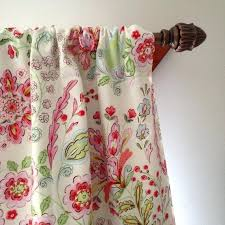 Duck Egg Blue Blackout Curtains Floral Curtain Panels Spring Bling Semisheer Rod Pocket Curtain