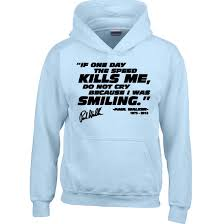 paul walker kids fast racing quotes jumper top sweatshirt
