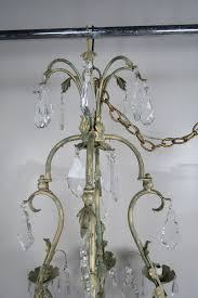 Painted Chandelier Wrought Iron Painted Chandelier