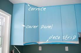 kitchen cabinet cornice cornice deco strip installation on ikea kitchen cabinets kitchen