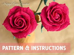 crochet pattern crochet flower pattern crochet