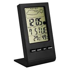 thermom re chambre b lcd temperature clock the best amazon price in savemoney es