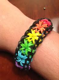 bracelet looms images Rainbow starburst rubber band bracelet rainbow looms i made jpg