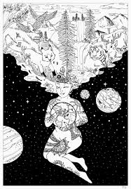 coloring pages by our partner artist pauline coloring pages for