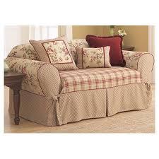 sure fit lexington box cushion sofa slipcover u0026 reviews wayfair