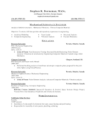 Aerospace Engineering Resume Cv Template Quality Engineer