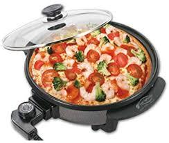 poele electrique cuisine san ignacio ad p40n poêle électrique avec couvercle en verre
