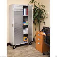 Garage Organization Categories - garage tall steel rolling tool storage cabinet shelving stainless