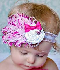 infant headbands fancy feathered headbands bambino headbands