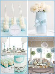Centerpieces For Baptism For A Boy by Taufeblue Christening Baptism Blue Boy Inspiration Ideas