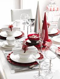 red and silver christmas table settings top christmas table settings christmas celebration all about