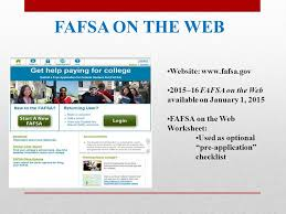 fafsa on the web worksheet 2015 16 relangga com