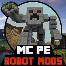 minecraft pe free android robot mods for minecraft pe for android free at apk here