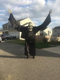 stilt costumes halloween walking on stilts 10ft tall 15ft wing span so many kids to