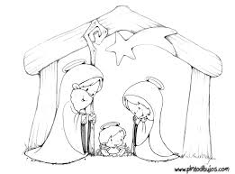 nativity scene coloring pages getcoloringpages com