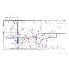 schema electrique chambre plan électrique et schéma électrique d une maison avec archifacile