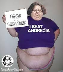 Anorexia Meme - i beat anorexia